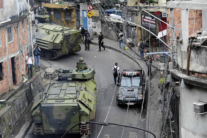 Favelas Rocinha Police Occupation