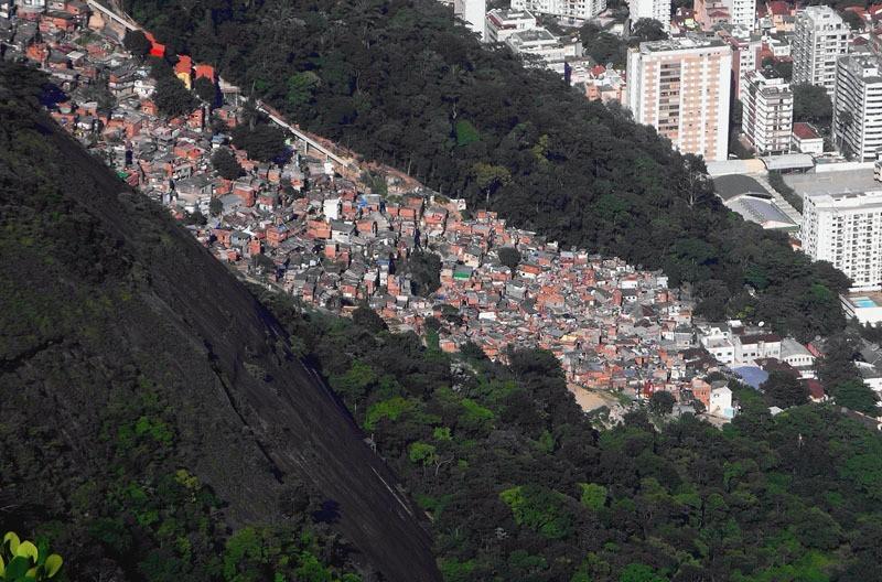 Favelas Santa Marta Beach