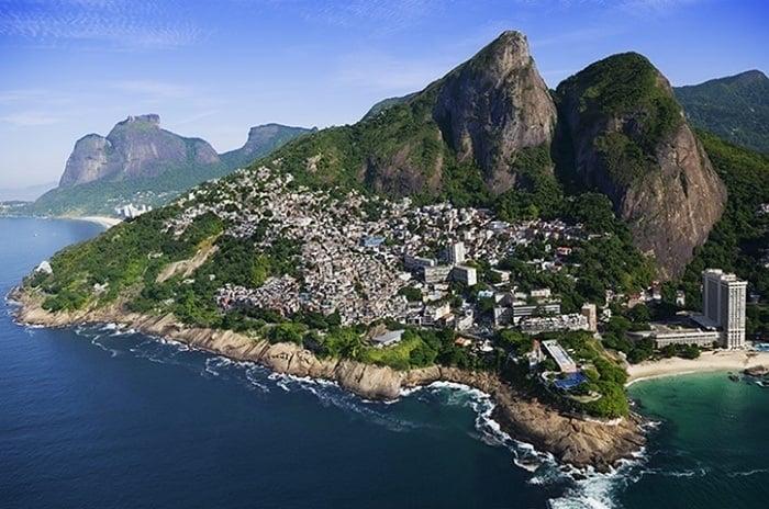 Favelas Vidigal Mountain Beach