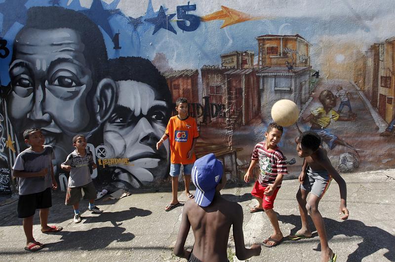 Favelas Vila Kids Soccer