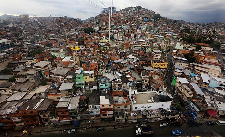 Favelas Panoramic View