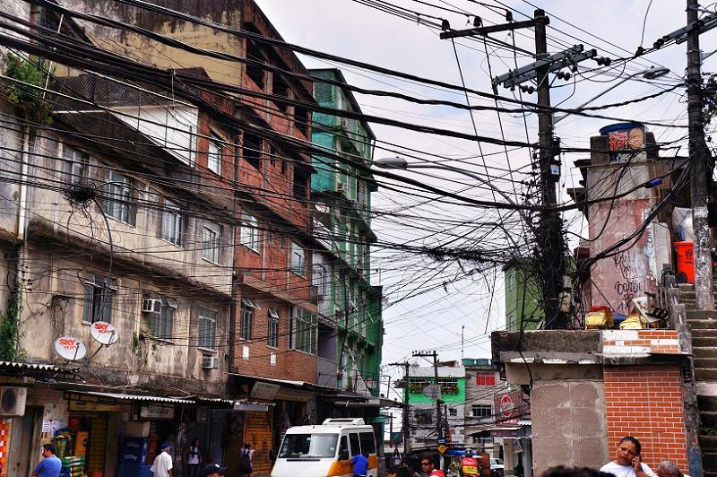 Favelas Tangled Wires