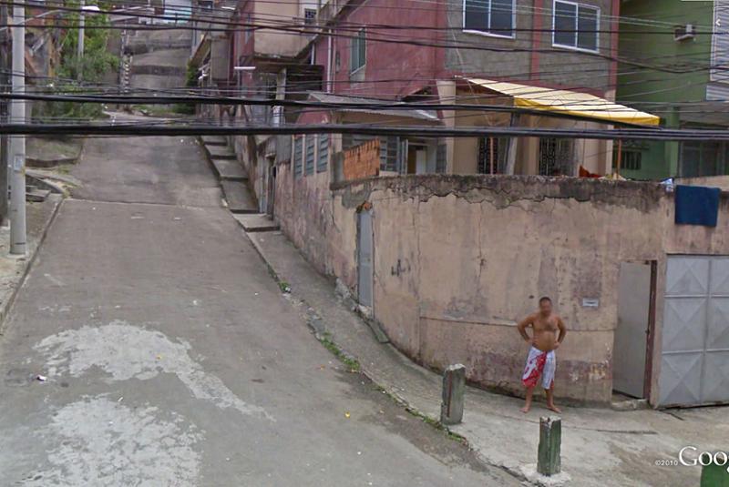 Favelas Vertical Street