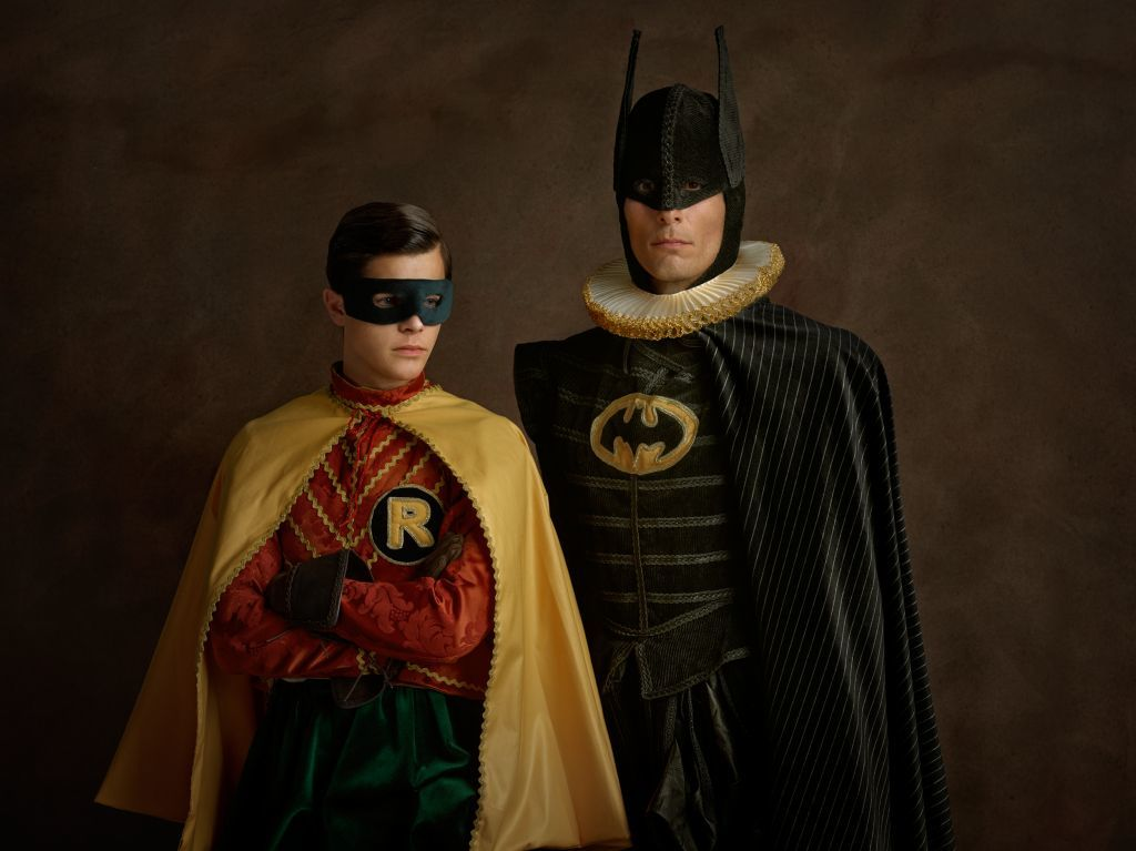 Batman and Robin by Sacha Goldberger