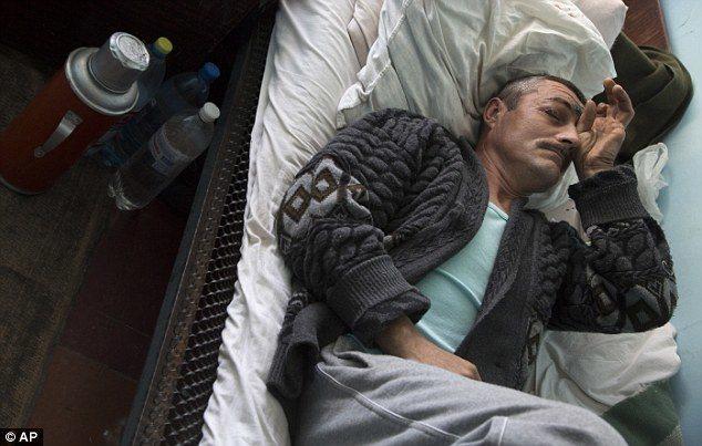 Man Injured By Shelling In Ukraine.
