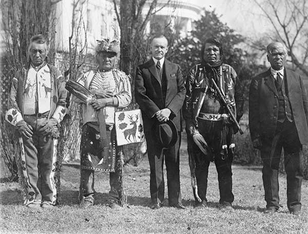 US Indian Assimilation Policy Coolidge