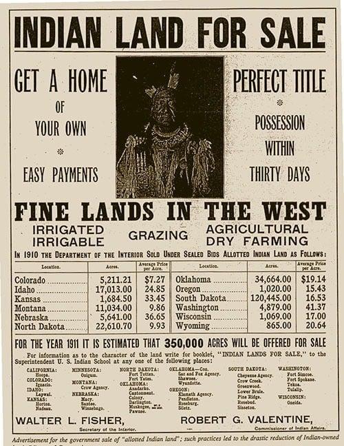 Native American Land