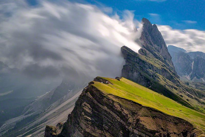 Dramatic Weather Alps
