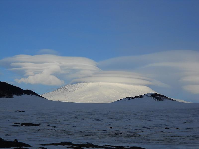 Dramatic Weather Lenticular Antarctica