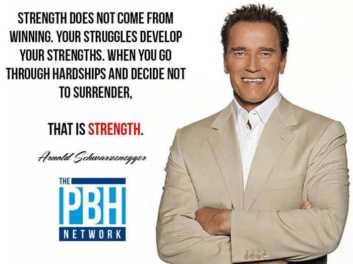Arnold On Strength