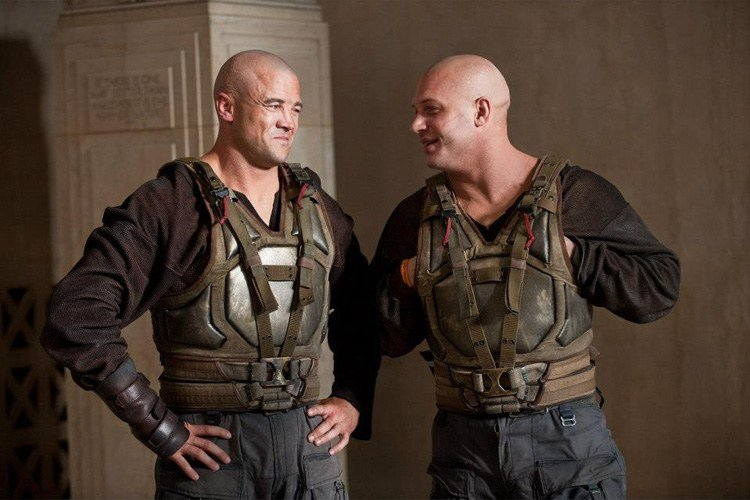 Stunt Doubles Bane Batman