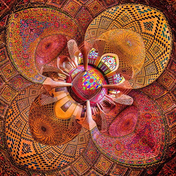Beautiful Mosques Shiraz