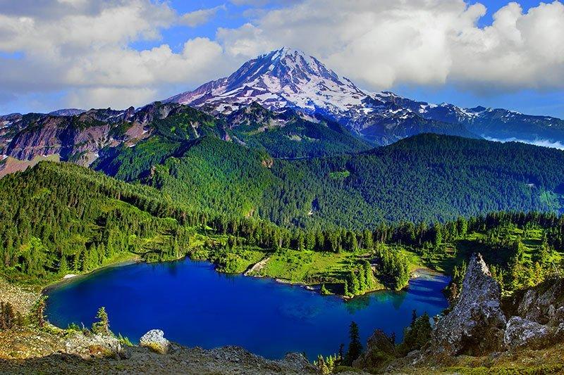 Mount Rainier in Washington