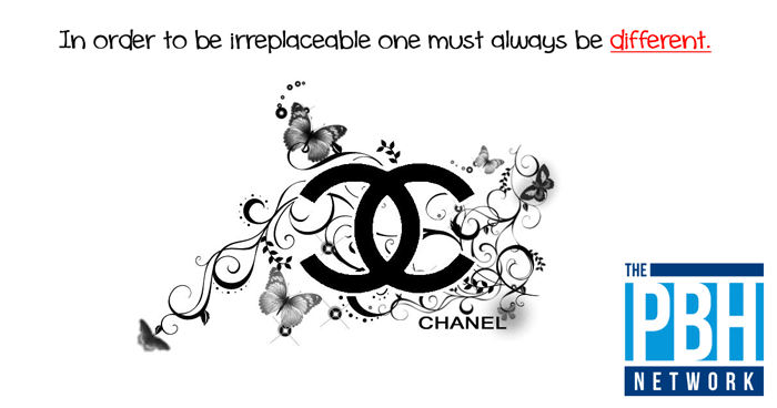 Coco Chanel On Being Different