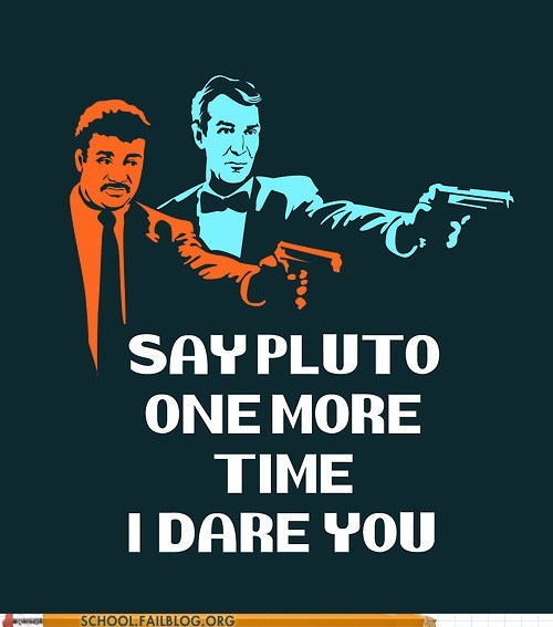 Neil DeGrasse Tyson Pluto