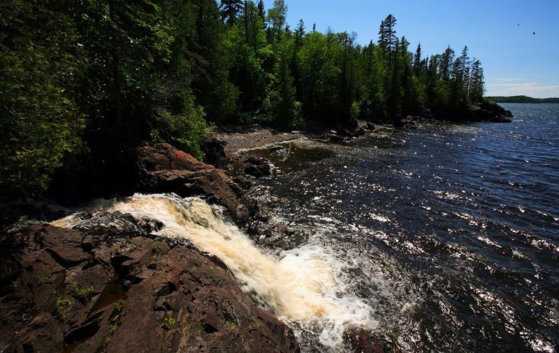 Isle Royale Waterfall