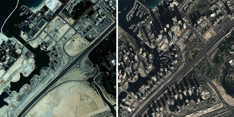 Dubai Aerial Photograph
