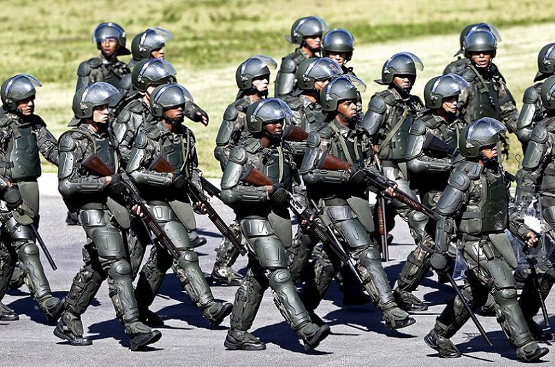 Favelas Starship Troopers