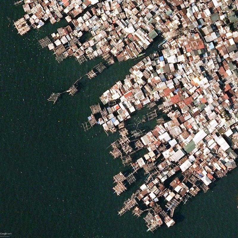 Fishing Slums In Manila