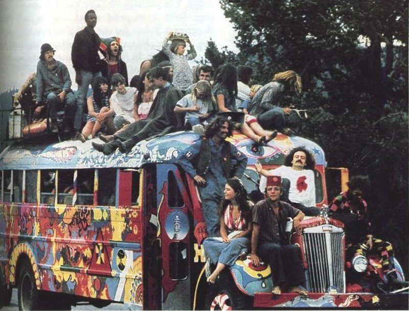 Hippies On A Bus