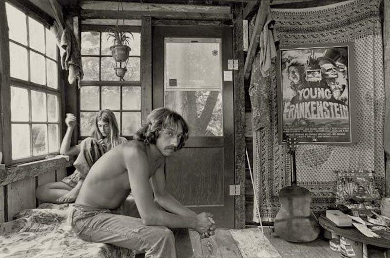Vietnam vet at Taylor Camp