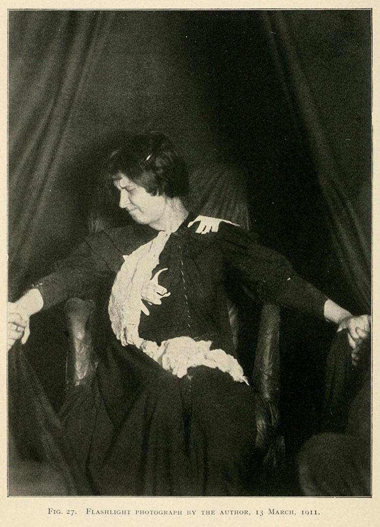 Eva Carriere Ectoplasm