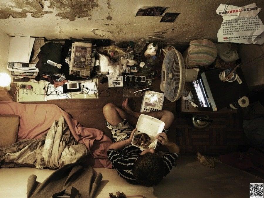 Hong Kong Crisis Cramped Above