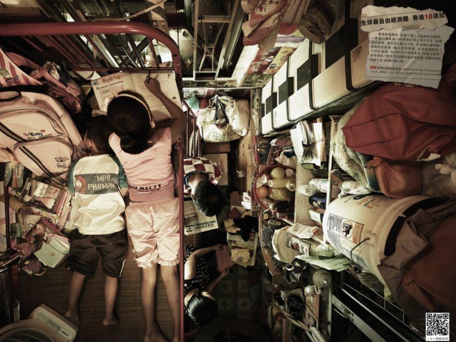 Hong Kong Crisis Girl Homework