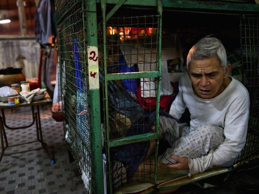Hong Kong Crisis Cages
