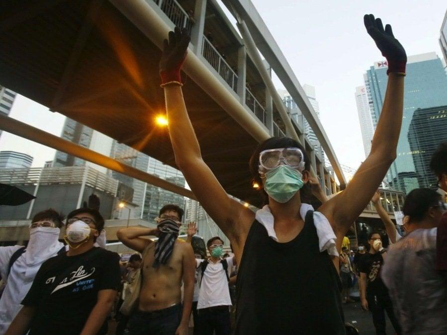 Hong Kong Crisis Street Protests