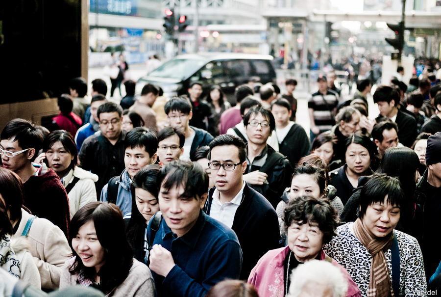 Hong Kong housing Crisis People