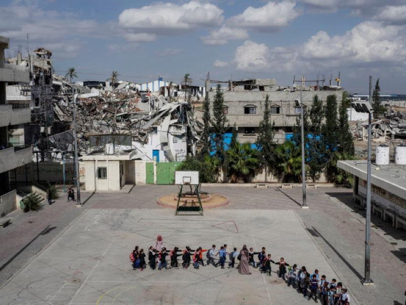 Inside Gaza Schools Destruction