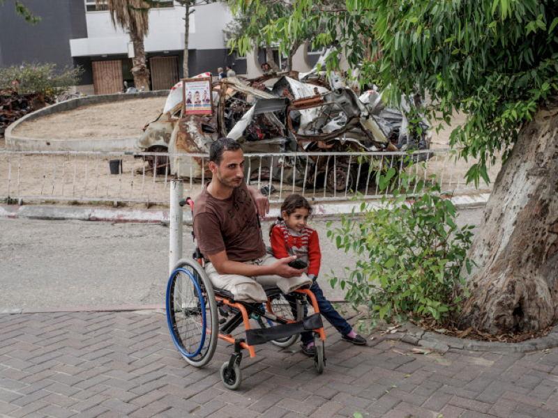 Inside Gaza Wheelchair