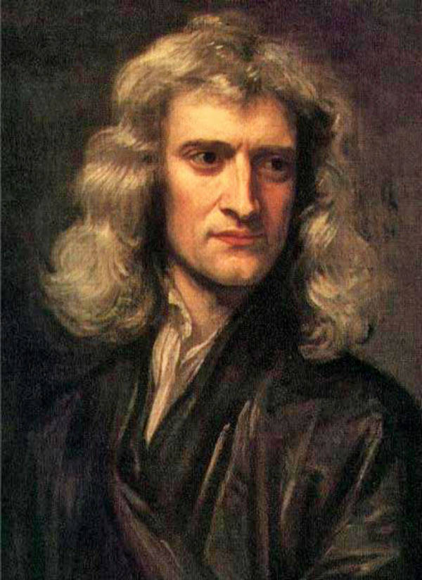 Isaac Newton Facts Portrait