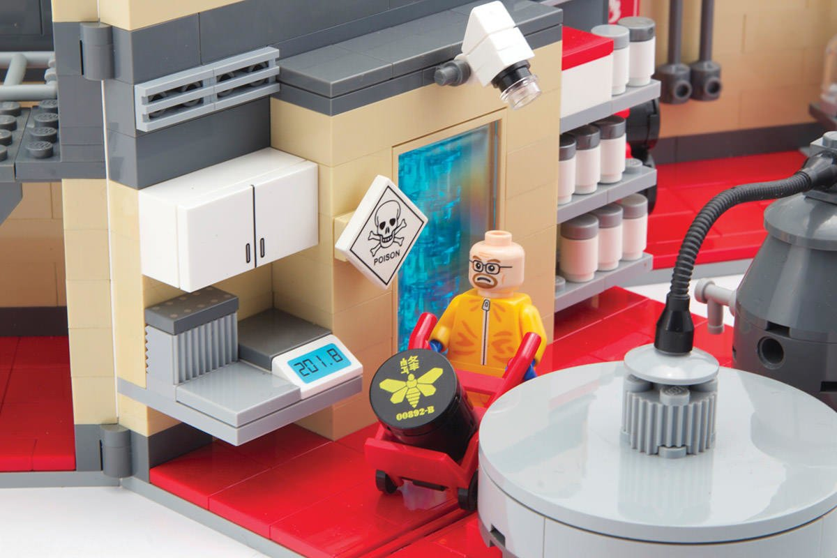 Meth Epidemic Lego
