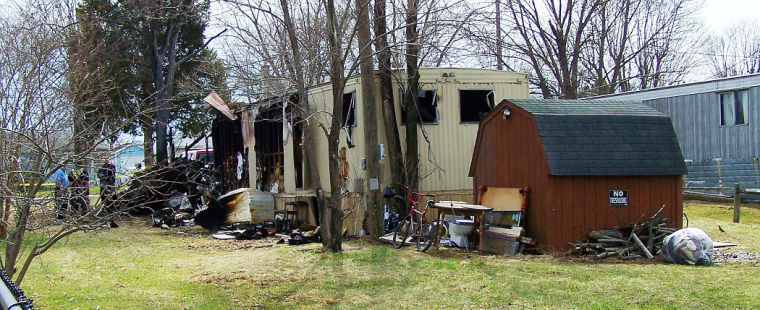 Meth Epidemic Mobile Home