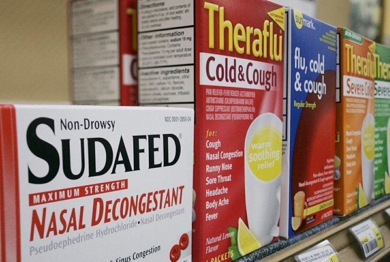 Meth Epidemic Sudafed