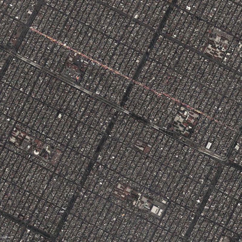 google earth mexico city