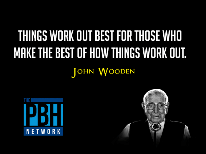 Motivational Quote From John Wooden