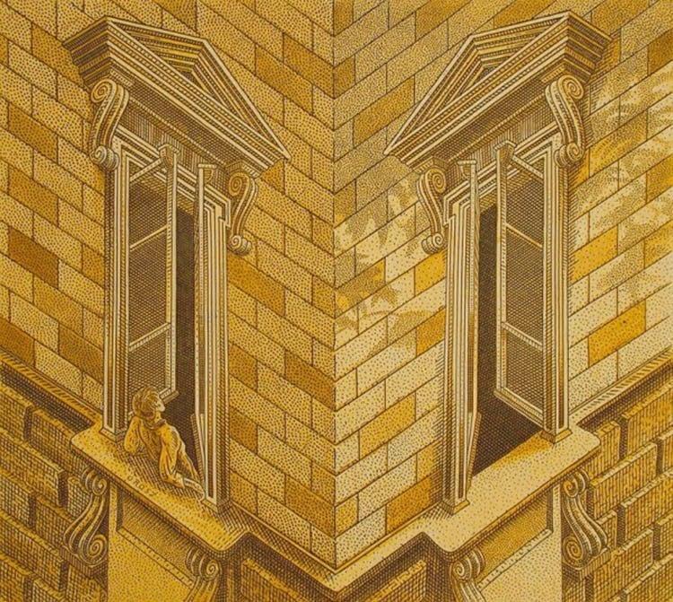 Corner Windows Illusion