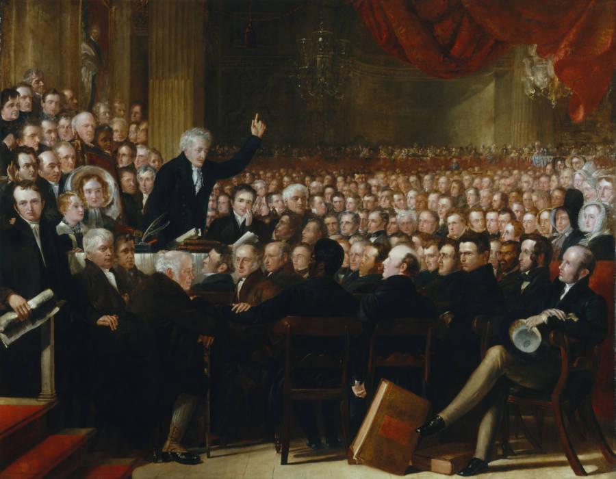 Parliament Crowd
