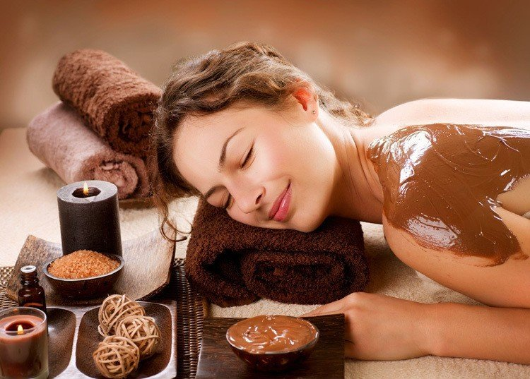 Strange Spa Treatments Chocolate