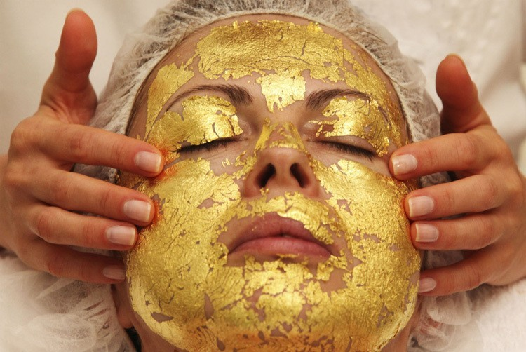 Strange Spa Treatments Gold