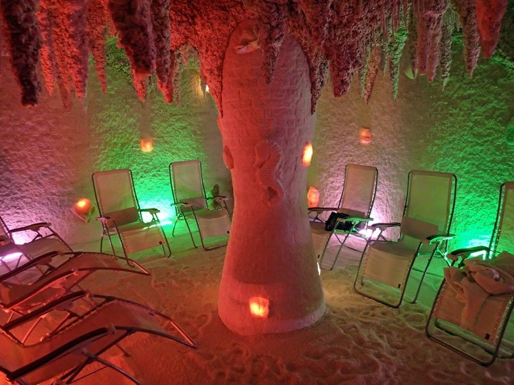 Strange Spa Treatments Salt Cave