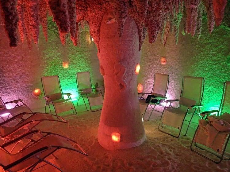 Strange Spa Treatments Salt Cave