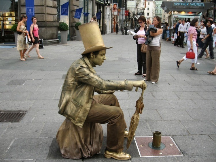 Living Statue Busker