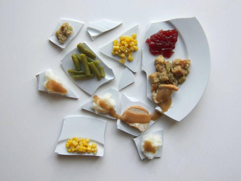 Artists Serve Thanksgiving Dinner
