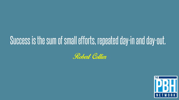 The Small Efforts