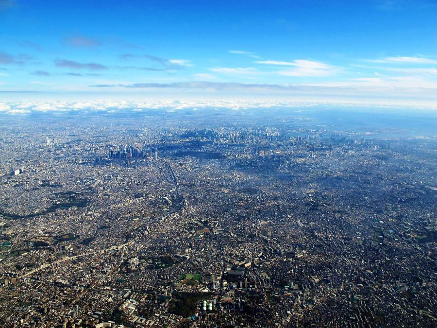 Tokyo Aerial Photograph