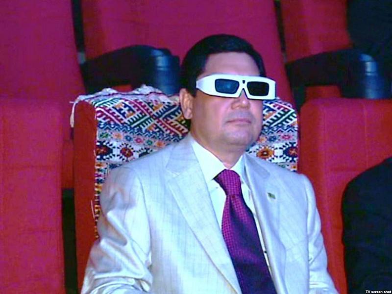 Turkmenistan 3D Glasses